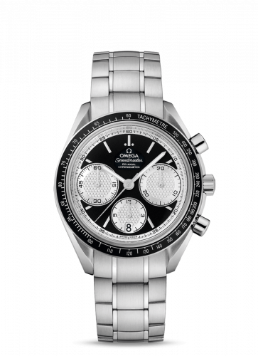 Omega 326.30.40.50.01.002 : Speedmaster Racing Co-Axial Chronograph Stainless Steel / Inverted Panda / Bracelet