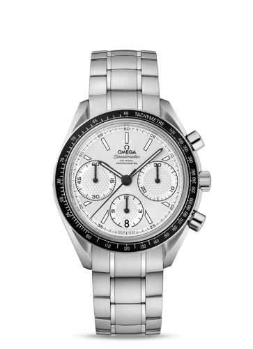 Omega 326.30.40.50.02.001 : Speedmaster Racing Co-Axial Chronograph Stainless Steel / Silver / Bracelet