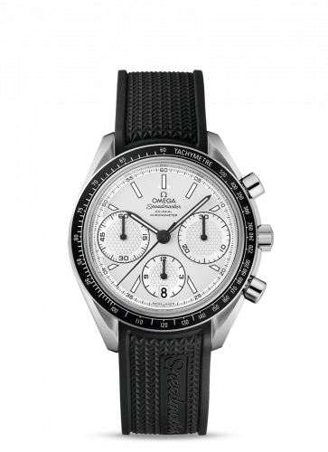 Omega 326.32.40.50.02.001 : Speedmaster Racing Co-Axial Chronograph Stainless Steel / Silver / Rubber
