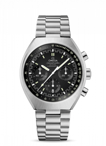 Omega 327.10.43.50.01.001 : Speedmaster Mark II Co-Axial Chronograph Stainless Steel / Black / Bracelet