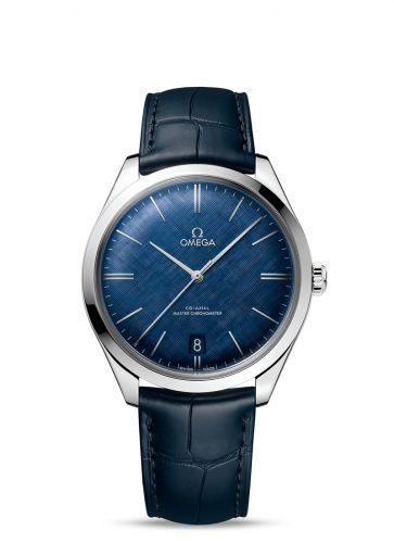 Omega 435.13.40.21.03.001 : De Ville Trésor Master Chronometer Stainless Steel / Blue