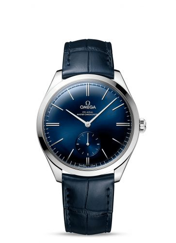 Omega 435.13.40.21.03.002 : De Ville Trésor Master Chronometer Small Second Stainless Steel / Blue
