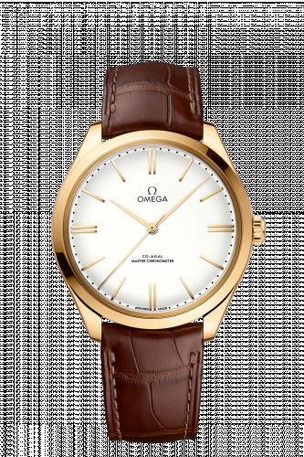 Omega 435.53.40.21.09.001 : De Ville Trésor Master Chronometer Yellow Gold / White Enamel