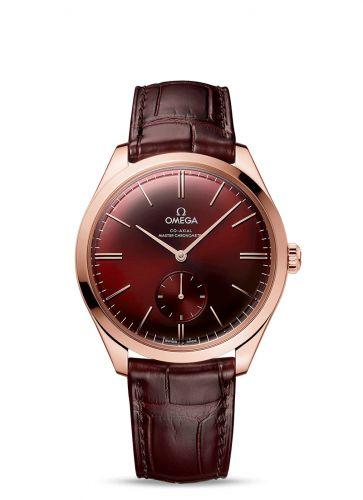 Omega 435.53.40.21.11.002 : De Ville Trésor Master Chronometer Small Seconds Sedna Gold / Red