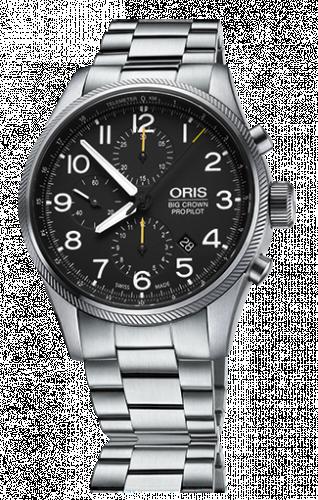 Oris 01 774 7699 4134-07 8 22 19 : Big Crown ProPilot Chronograph / Stainless Steel