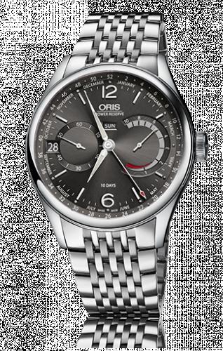 Oris 01 113 7738 4063-Set 8 23 79PS : Calibre 113 Steel / Anthracite / Bracelet