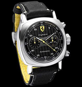 FER00014 : Panerai Ferrari Scuderia Flyback