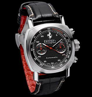 Panerai FER00018 : Ferrari Granturismo Chronograph 40mm Black