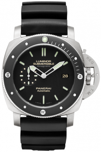 Panerai PAM00389 : Luminor Submersible 1950 Amagnetic 3 Days Automatic Titanio