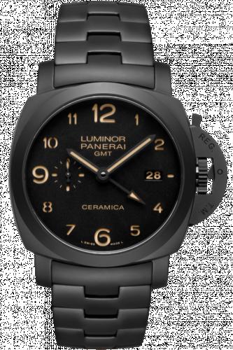 PAM00438 : Panerai Luminor 1950 3 Days GMT Automatic Tuttonero