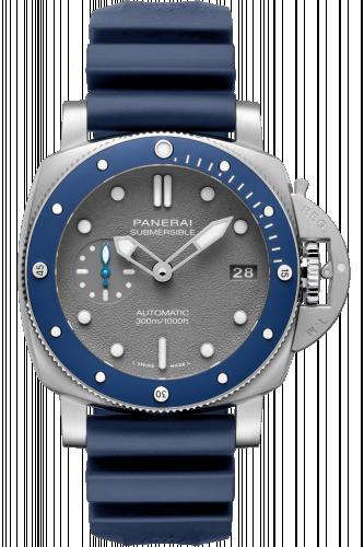 Panerai PAM00959 : Luminor Submersible 42 3 Days Automatic Acciaio Blue Ceramic / Shark Grey