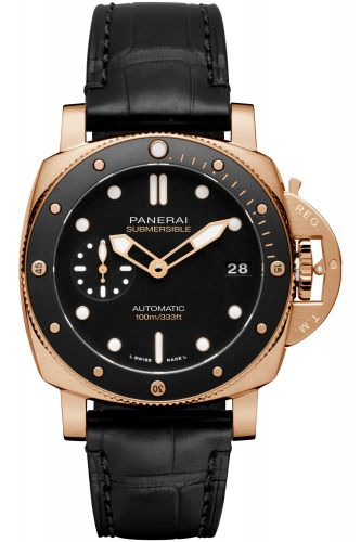 Panerai PAM00974 : Luminor Submersible 42 3 Days Automatic Goldtech / Black