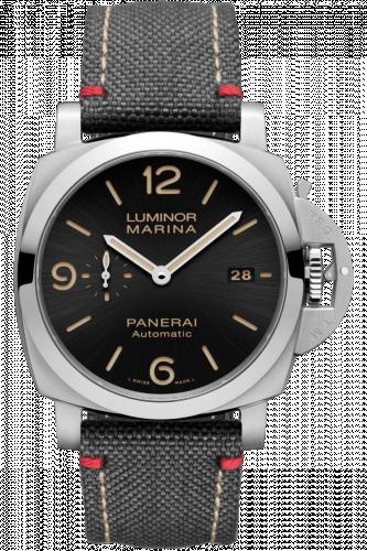 Panerai PAM01025 : Luminor 1950 44 3 Days Automatic Stainless Steel / Black / Roma