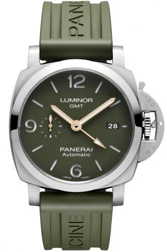 PAM01056 : Panerai Luminor 1950 44 3 Days GMT Automatic Stainless Steel / Mahendra Singh Dhoni