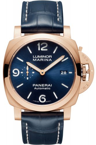 Panerai PAM01112 : Luminor 1950 44 3 Days Goldtech / Sole Blu