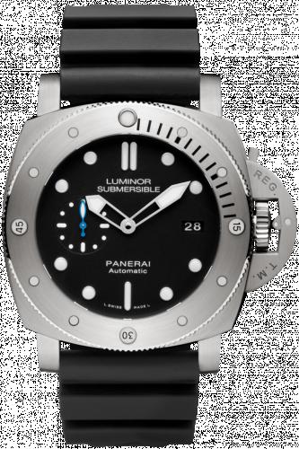 Panerai PAM01305 : Luminor Submersible 47 3 Days Automatic Titanium / Black