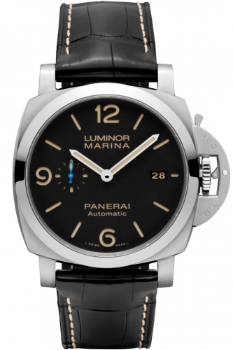 Panerai PAM01312 : Luminor 1950 44 3 Days Automatic Stainless Steel / Black