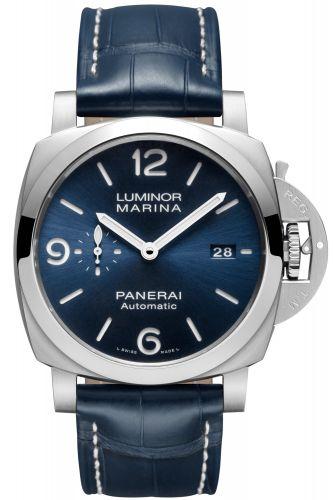 Panerai PAM01313 : Luminor 1950 Marina 3 Days Automatic Stainless Steel / Blue