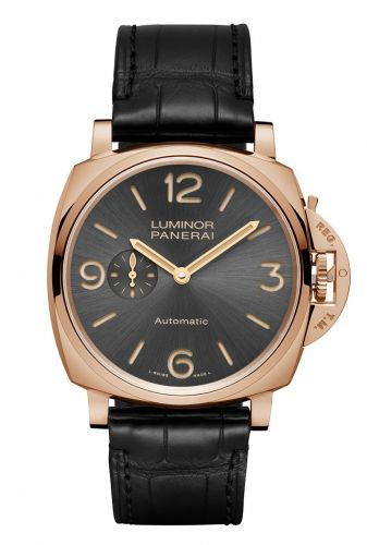 Panerai PAM00675 : Luminor Due 45 3 Days Automatic Red Gold / Grey