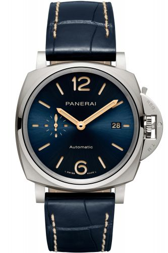 Panerai PAM00927 : Luminor Due 42 Automatic Titanium/ Blue