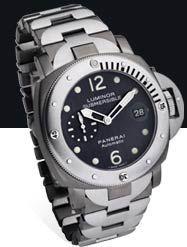 Panerai PAM00106 : Luminor Submersible Anthracite Titanium / Steel
