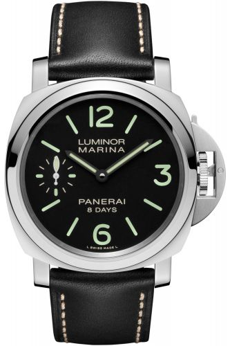Panerai PAM00510 : Luminor Marina 44 8 Days Stainless Steel / Black