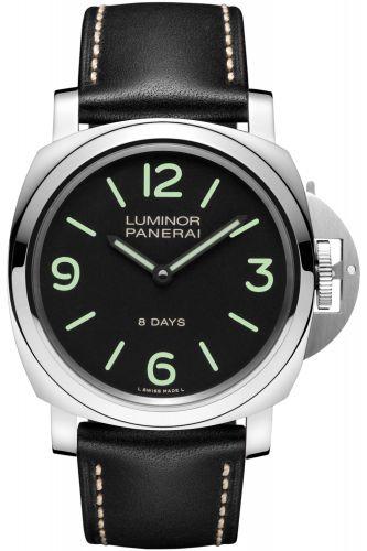 PAM00560 : Panerai Luminor Base 44 8 Days Stainless Steel / Black