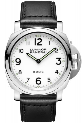 PAM00561 : Panerai Luminor Base 44 8 Days Stainless Steel / White