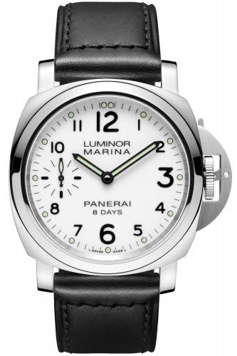 PAM00563 : Panerai Luminor Marina 44 8 Days Stainless Steel / White