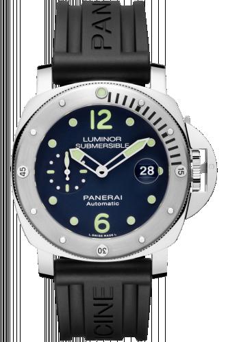 Panerai PAM00731 : Luminor Submersible Automatic Acciaio Blue