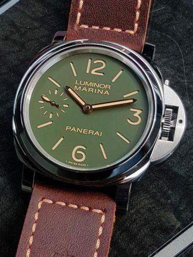 PAM00911 : Panerai Luminor Marina 8 Days Stainless Steel / Green / Paneristi