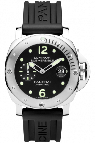PAM01024 : Panerai Luminor Submersible 44 Automatic Stainless Steel / Black