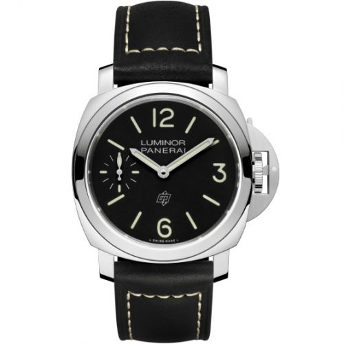 Panerai PAM01084 : Luminor 44 Logo 3 Days Stainless Steel / Black