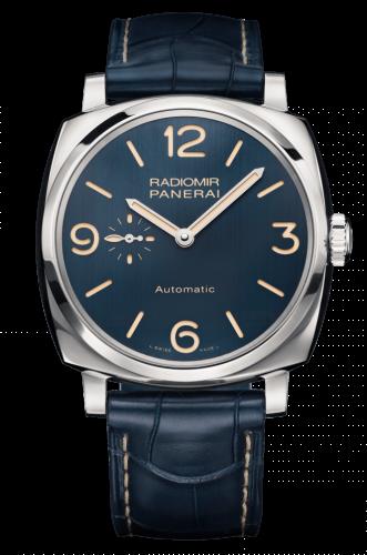 Panerai PAM00694 : Radiomir 1940 3 Days Automatic Acciaio Bucherer Blue Editions