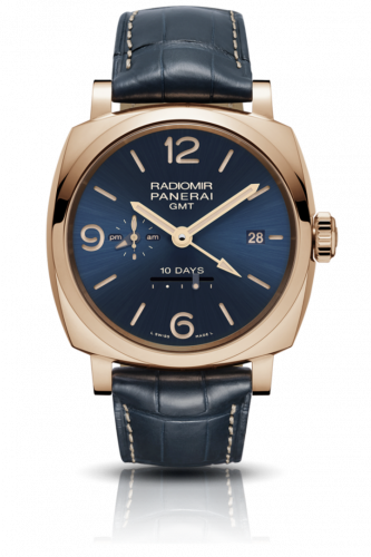 Panerai PAM00659 : Radiomir 1940 10 Days GMT Oro Rosso Boutique Blue