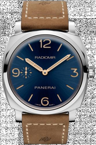 Panerai PAM00690 : Radiomir 1940 3 Days Acciaio Boutique Blue