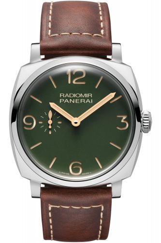 PAM00995 : Panerai Radiomir 1940 45 3 Days Automatic Stainless Steel / Military Green