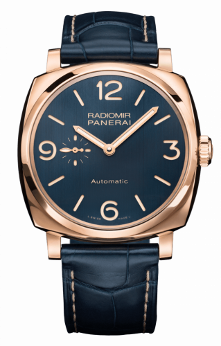 Panerai PAM00695 : Radiomir 1940 3 Days Automatic Oro Rosso Bucherer Blue Editions