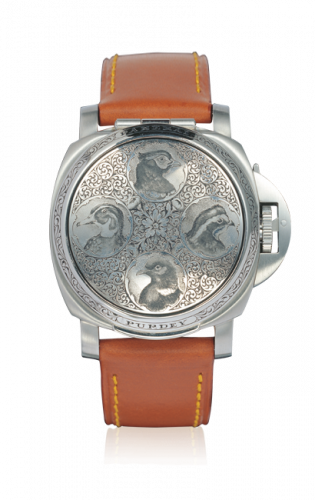 Panerai PAM00154 : Luminor Sealand for Purdey Birds