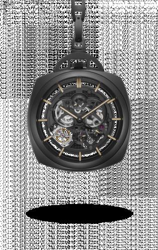 Panerai PAM00446 : Pocket Watch Tourbillon GMT Ceramica