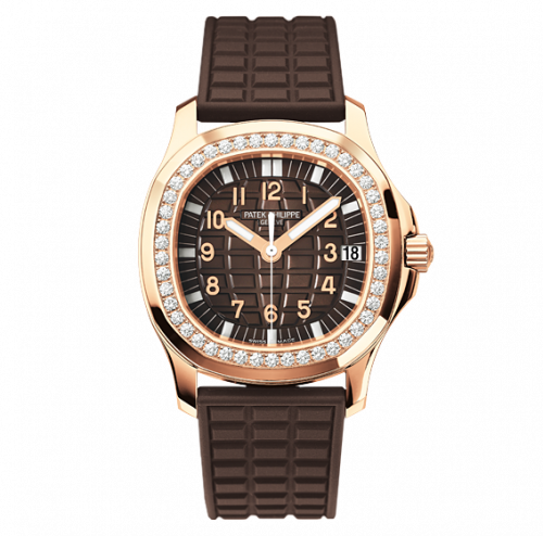 5068R-001 : Patek Philippe Aquanaut 5068 Rose Gold / Brown