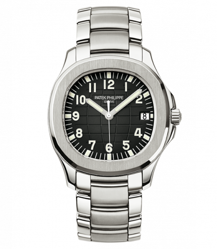 5167/1A-001 : Patek Philippe Aquanaut 5167 Stainless Steel / Black