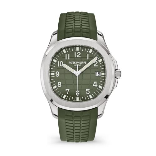 5168G-010 : Patek Philippe Aquanaut 5168 White Gold / Green