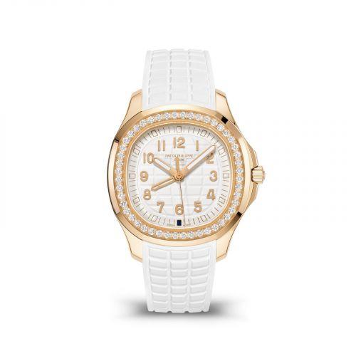 Patek Philippe 5269/200R-001 : Aquanaut Luce Travel Time Rose Gold / White