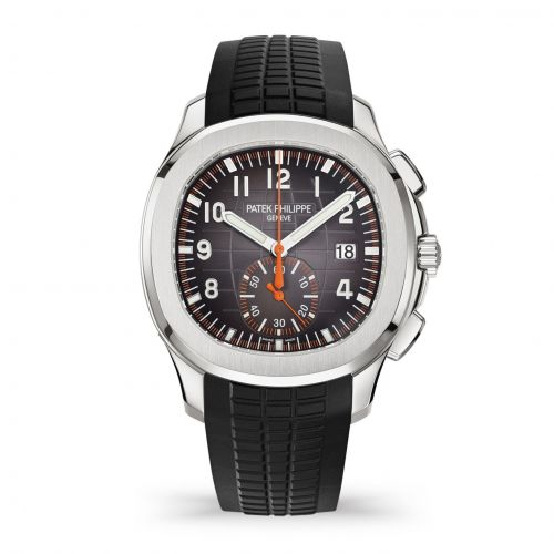 Patek Philippe 5968A-001 : Aquanaut Chronograph 5968 Stainless Steel / Black / Rubber