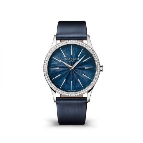 Patek Philippe 4997/200G-001 : Calatrava 4997 White Gold / Blue
