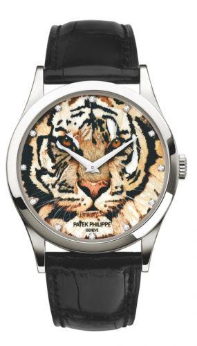 Patek Philippe 5077P-065  : Calatrava 5077 Royal Tigers