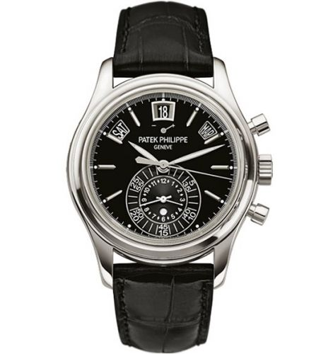 Patek Philippe 5960P-016 : Annual Calendar Chronograph 5960 Platinum / Black