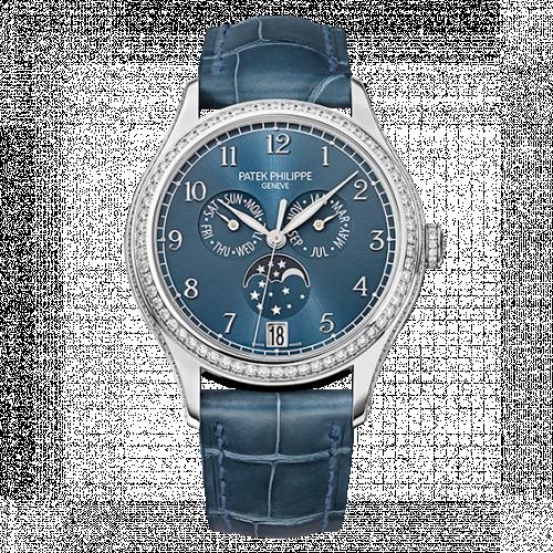 Patek Philippe 4947G-001 : Annual Calendar 4947 White Gold / Blue