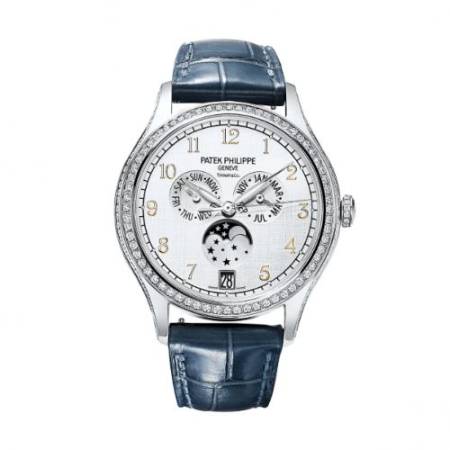 Patek Philippe 4947G-010 T : Annual Calendar 4947 Tiffany White Gold / Silver